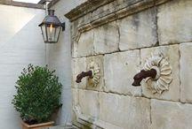 courtyard fountain