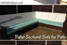 Pallet Sectional / Sofa