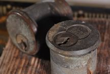 Lock Cylinders / We love lock cylinders. Old or new, this ingenious bit of mechanical engineering is what keeps our homes, businesses, and garages safe and secure. For all you rekey or lock needs check us out at: https://kinglocksmiths.com/garage-door-locks-install-rekey/