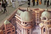 3D street art / by Melissa Rinaldin