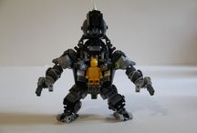 Rhino suit lego brick from Amazing Spider-man 2 / Rhino suit lego brick from Amazing Spider-man 2