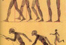 Bammers tekeningen perspectief en lichaamsverhouding