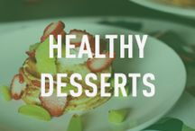Healthy Desserts / Just because you're eating healthy doesn't mean you can't satisfy your sweet tooth once in a while. This board contains healthy dessert options.
