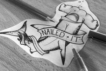 Hammerhead Shark Art