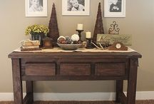 Home Decorating / Ideas to decorate the home! / by Laura (The Green Forks & Laura's Sweet Spot)