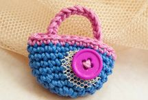Crochet/knit jewelry / Patterns, posts, videos, photos, tutorials