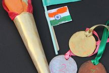 Oympic themed crafts for kids