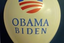 Election Campaign Promotional Balloons / Campaign balloons printed by CSA Balloons - www.customballoonsusa.com (USA) and www.csaballoons.com (Canada)
