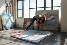 First Contemporary Studio Spaces / Studio spaces of the artists represented by First Contemporary