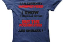 Great t shirts / by crafty Arty