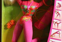 my Barbie dolls