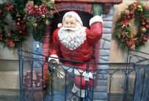 Father Xmas / Displays for Father Xmas