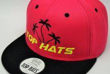 TOP HATS / Selección de gorras Top Hats que hay en nuestra tienda online www.tophats-shop.com / Top Hats selection of caps that are in our shop www.tophats-shop.com