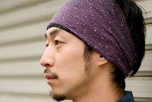 reversible mesh headband