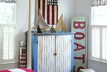 Red, White, & Blue Nautical style