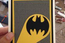 Batman cards, svg files