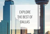 Dallas Attractions / The best things to do, see, and explore when traveling to Dallas, Texas! See them all: http://www.ruebarue.com/dallas