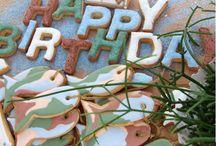 HAPPY BIRTHDAY COOKIES / urodzinowe ciasteczka https://www.facebook.com/pages/Sweet-Project/480318932049151