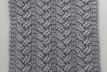 Cable stitch Crochet