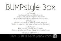BUMPstyle Box / BUMPstyle Box is a chic maternity boutique delivered to your door. Your box usually contains 8 to 12 hand-selected items including dresses, pants/jeans, shoes and accessories. The great news is you have 10 days to try on what's inside your BUMPstyle box in the comfort of your own home. Your personal stylist will include a hand written note describing exactly how to wear each outfit... your stylist is with you every step of the way! - See more at: www.bumpstylebox.com / by Baby Bump