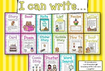 Writing Posters and Charts / by Angie Novelletto
