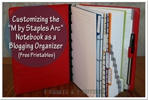 Organization is the Key / This will be a board on how to stay organized for your business. Tips, ARC notebook finds, planners, bulletin boards, etc. / by Eliza Ferree - The Life of a Home Mom