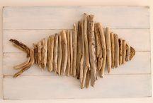 ψάρι από ξυλο