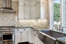 Kitchen Backsplash Ideas / by Sharon Rose Berger