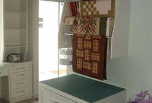 organizando atelie / móveis - decoração - idéias e sugestões