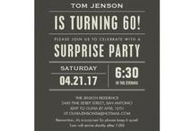 Mustache Themed Party / Mustache Surprise Party
