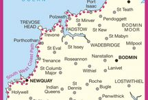 Mapping Cornwall and the Isles Of Scilly / Maps ancient and modern, professional and amateur, depicting Cornwall and the Isles of Scilly in the far south west of Britain.