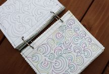 Building a Sampler Book for Free Motion Quilting Motif
