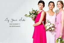 { AW BY YOUR SIDE-HIGH SUMMER 17 } / Collection based on designs for Bridesmaid Dresses