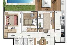 projetos casas