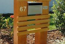 Letterbox ideas / All kinds of letterboxes - from conventional to funky