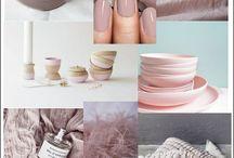 Kleurimpressie: oud roze