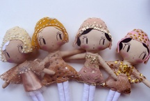 FELT & WOODEN DOLLS / needle felt and wooden projects inspired by Waldorf / by Ancient Amber <<