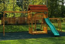 Isabella's outside play area