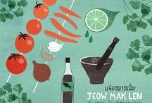 Food Illustrations & Designs