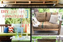 DIY pallet furnitures