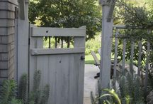Pretty gate ideas / by Jeannie Overman Incognitos