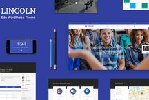 Lincoln - Educational Material Design WordPress Theme / Coming this November, Lincoln will sure to surpass all your expectations. It includes Courses, Events, Galleries, Slider builder, and an expansive library of content. In addition, it also incorporates useful shortcodes and widgets.