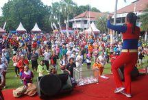 """The Miracle Day, Kediri / Jalan sehat di Kediri, Jawa Timur dengan tema """"Miracle Day"""" bersama Bpk/Ibu Walikota dan Wakil Walikota beserta jajarannya serta masyarakat Kediri. Roadshow Testimoni se Jawa Timur  / by BIOACTIVA JAMU TETES"""
