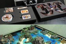 Board games - diorama