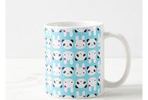Cute Cartoon Animal Mugs