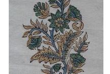 Hand block print motifs / Explore our designs or traditional motifs of beautiful hand block printed fabrics by Mohari.