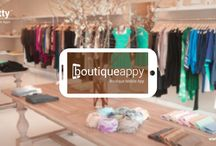 BoutiqueAppy - Mobile App for Boutique and Designers / A Sleek and Custom Fit Mobile App to Serve your Boutique Clients.