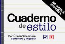 Cuaderno de Estilo / by Cdperiodismo
