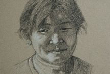 Susan Fox's Drawings / Drawings in a variety of media