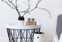 DIY Wire Deco / Draht Deko / DIY Wire Deco / Draht Deko: Side Table / Beistelltisch, Lamshade / Lampenschirm, Candlestick / Kerzenständer, Wire basket / Drahtkorb
